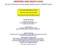Weekend ham radio class