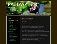 PA3BWK Ultimate CW Web Site