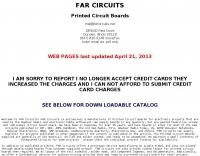 Far Circuits - Printed Circuit Boards