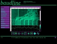 Baudline signal analyzer