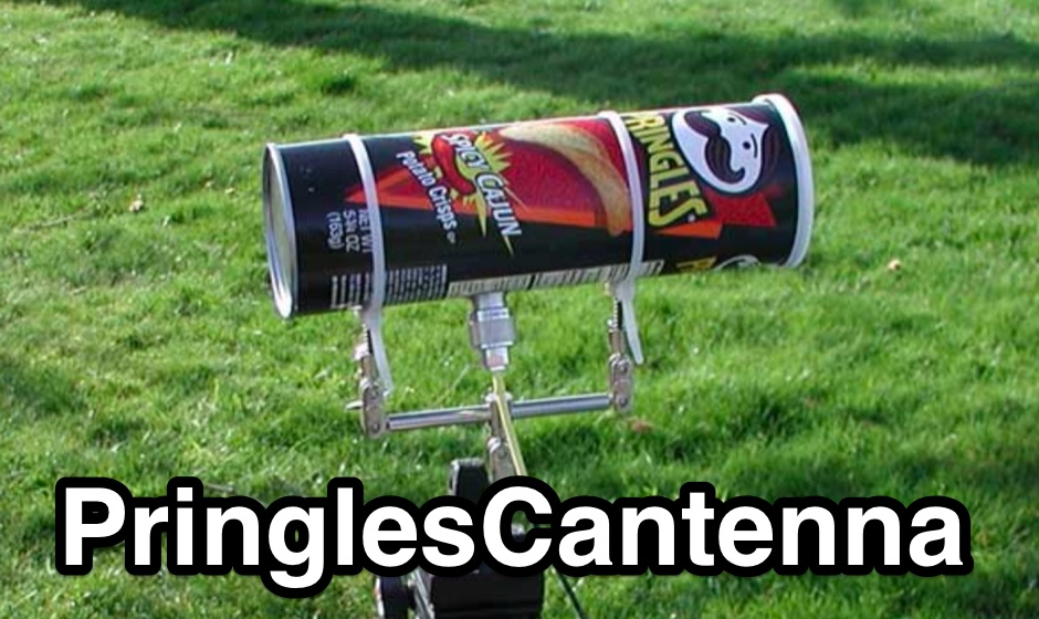 PringlesCantenna - Seattle Wireless