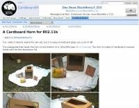 CardboardHorn - Seattle Wireless