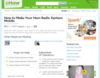 How to make your ham radio system mobile