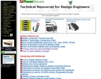 Technical resources for design engineers using batteries and power supplies.
