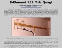 8-Element 430 MHz Quagi