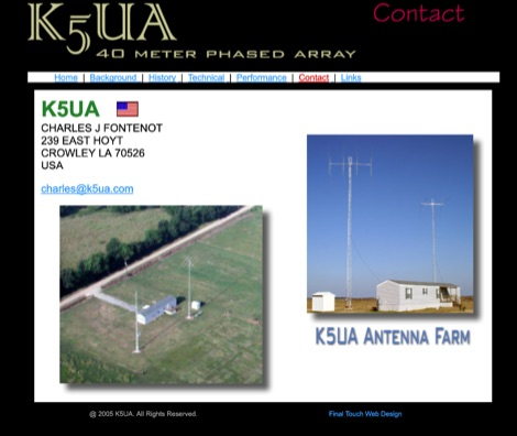 K5UA 40 meter Phased Array