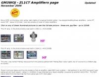 GM3WOJ Amplifiers page