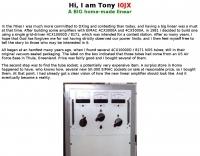 11 KW  Linear amplifier by I0JX