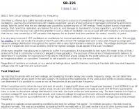 SB220 SB221 arcing problems improvements mods