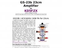 KD5FZX 23 CM GS-15B PA