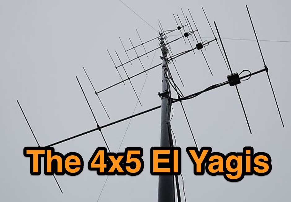 2m VHF antennas with high gain