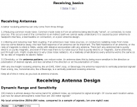 Receiving Antenna Design