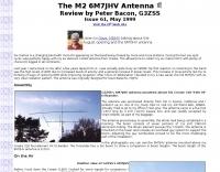 The M2 6M7JHV Antenna