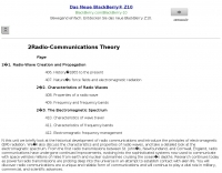 Radio-Communications Theory