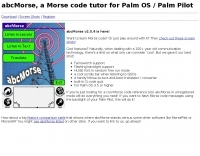 abc Morse Code for Palm