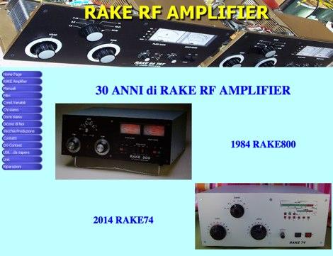 Rake amplifiers
