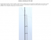 Vertical antenna for 160 meter