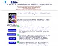 Elsie - Filter Design