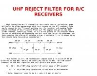 UHF Reject filter
