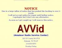 AVVid - Repair service