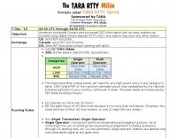 TARA RTTY Sprint