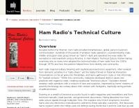 Ham Radio's Technical Culture