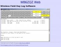 Wireless Field Day Log Program