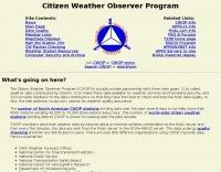 Citizen Weather Observer Program