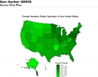 Female Amateur Radio Operatrors in the USA