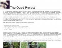 QRZ de W3DF The Quad Project