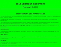 Vermont QSO Party