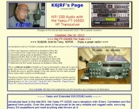 Yaesu FT-1000D HiFi SSB Audio and Mods