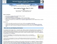 K5QHD Garland Amateur Radio Club