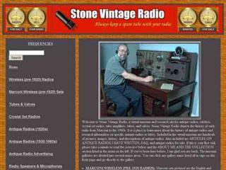 Stone Vintage Radio