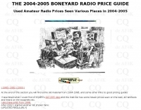 Boneyard Bluebook