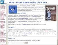 Historical Radio Society of Australia Inc.