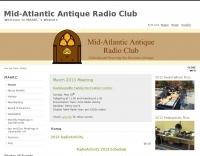 Mid Atlantic Antique Radio Clun