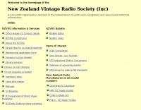 New Zealand Vintage Radio Society