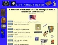 Bill's Antique Radios