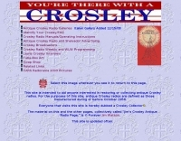 Jim's Crosley Antique Radio Page