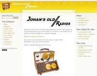 Johan's old radios