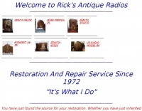 Rick's Antique Radios