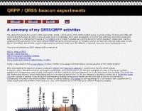 DL6JAN QRSS beacon experiments