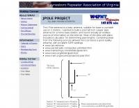 2 Meter Jpole by KG4WOA