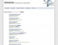 Kenwood manuals