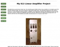 Homebrew 813 Linear Amplifier