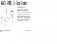 AM-6154 FAA Amplifier circuit conversion
