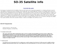 SO-35 Satellite page