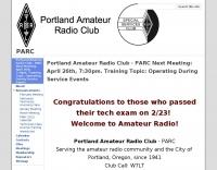 Portland Amateur Radio Club