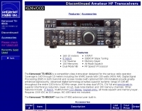 Kenwood TS-850S Features